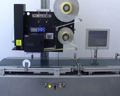 APES 3 - Automatic weighing and labelling system